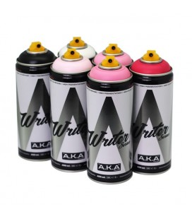 PACK WRITER x6 'Pinky Pink'
