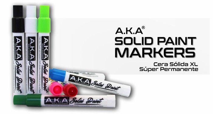 SOLID PAINT MARKERS - CERAS