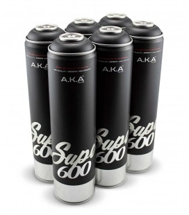 PACK x6 NEGROS 600ml
