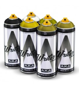 PACK WRITER x6 'Mustard Yellow'