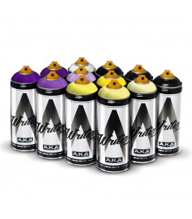 PACK WRITER x12 'Golden Yellow – Raspy Violet'